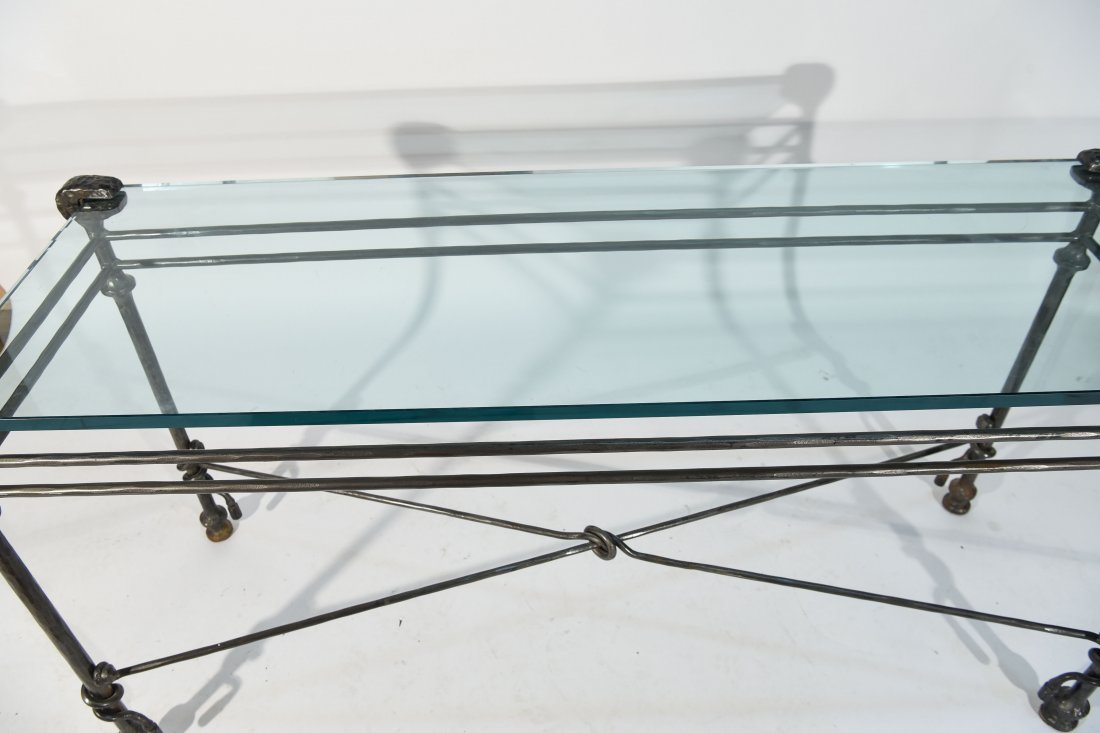 DIEGO GIACOMETTI STYLE CONSOLE TABLE - 9