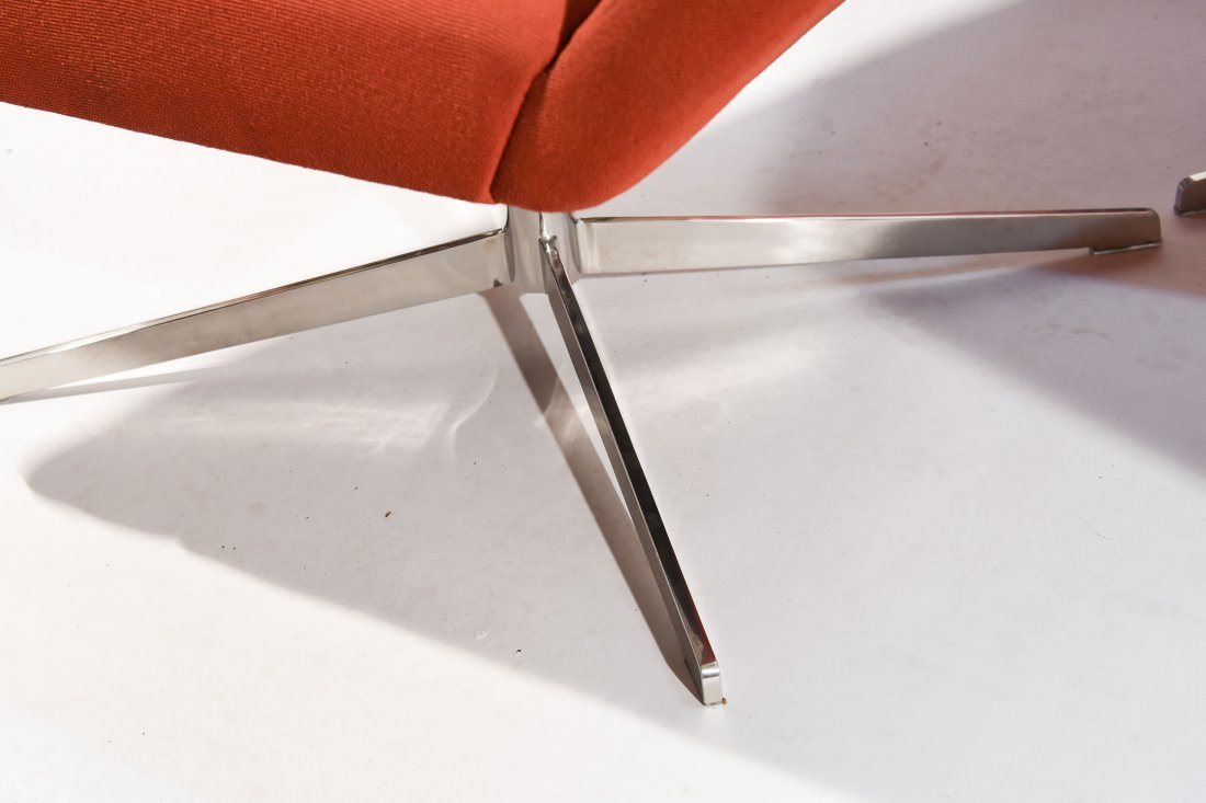 (2) STEELCASE LOUNGE CHAIRS - 3