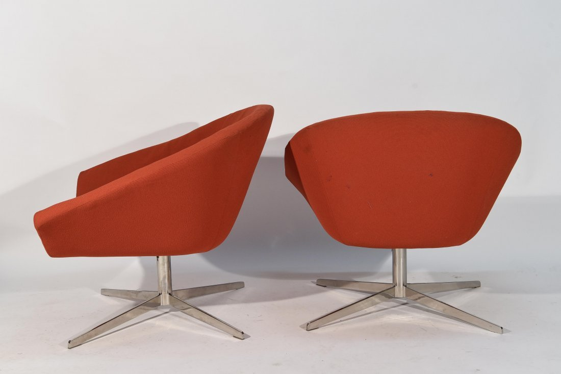 (2) STEELCASE LOUNGE CHAIRS - 6