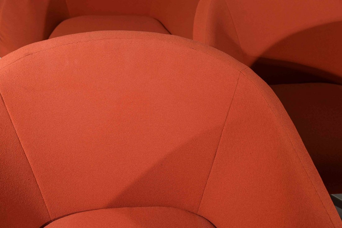(2) STEELCASE LOUNGE CHAIRS - 8