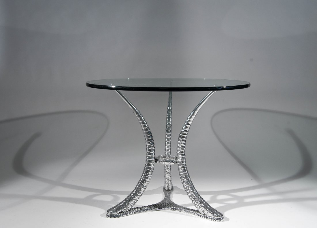 "ARTHUR COURT ""TUSK"" TABLE"