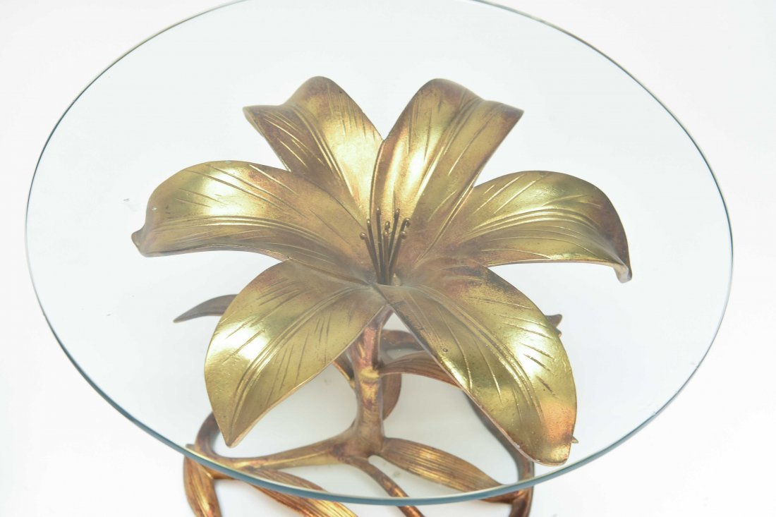 HOLLYWOOD REGENCY LILLY TABLES BY ARTHUR COURT - 3