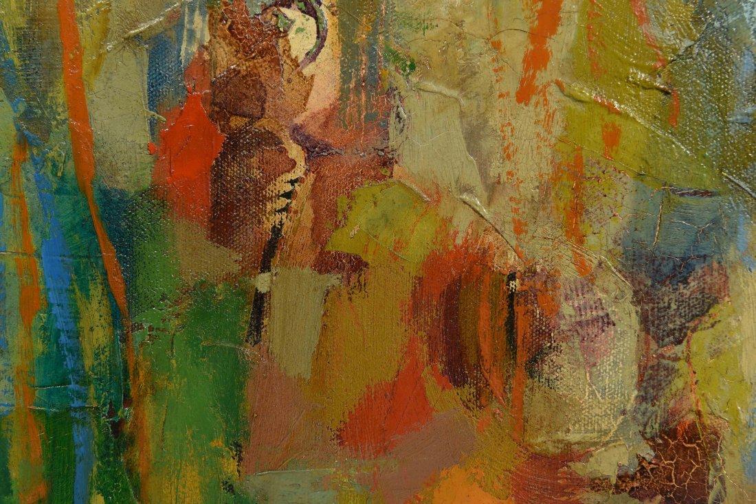SEONY MOY (CHINESE/AMERICAN 1921-2013) O/C - 5