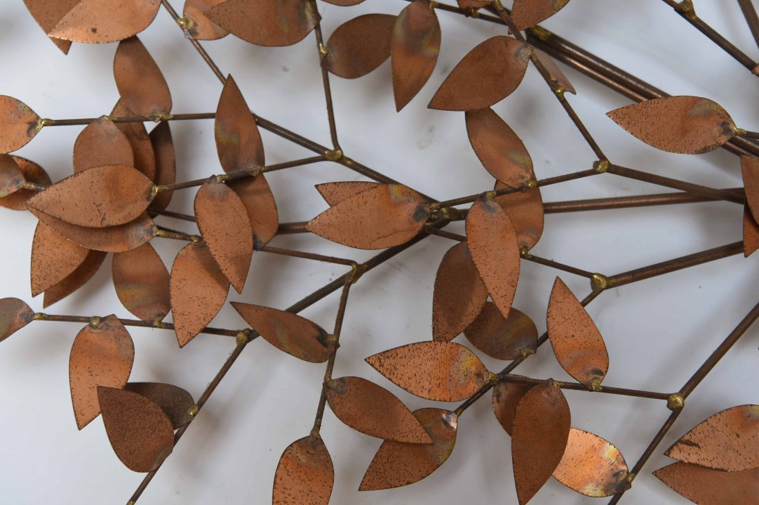 CURTIS JERE METAL TREE WALL SCULPTURE - 2