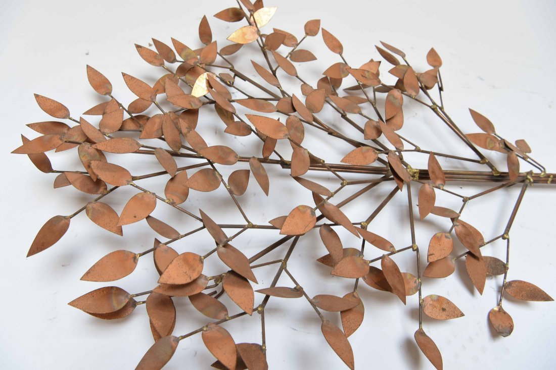 CURTIS JERE METAL TREE WALL SCULPTURE - 7