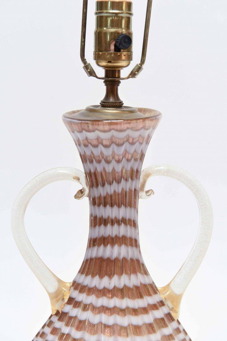 ITALIAN MURANO GLASS LAMP - 2