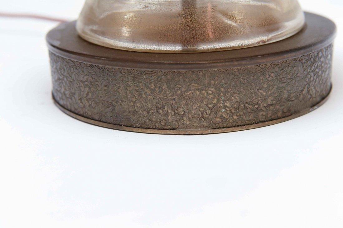 ITALIAN MURANO GLASS LAMP - 8