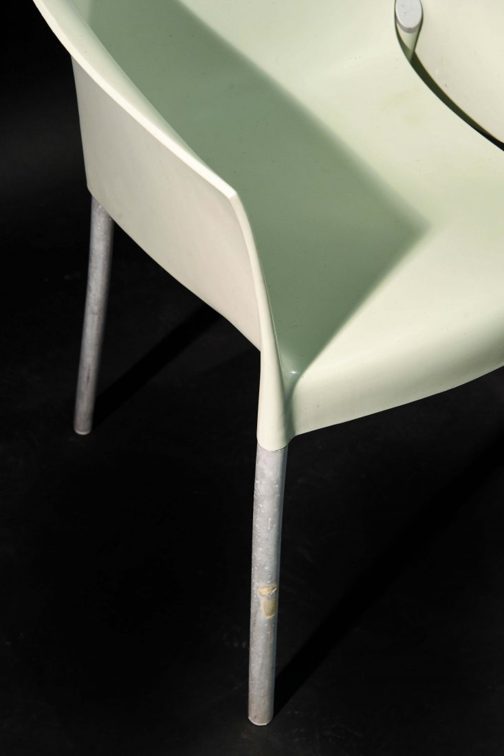 PAIR OF PHILIPPE STARCK; KARTELL DR. NO CHAIRS - 4