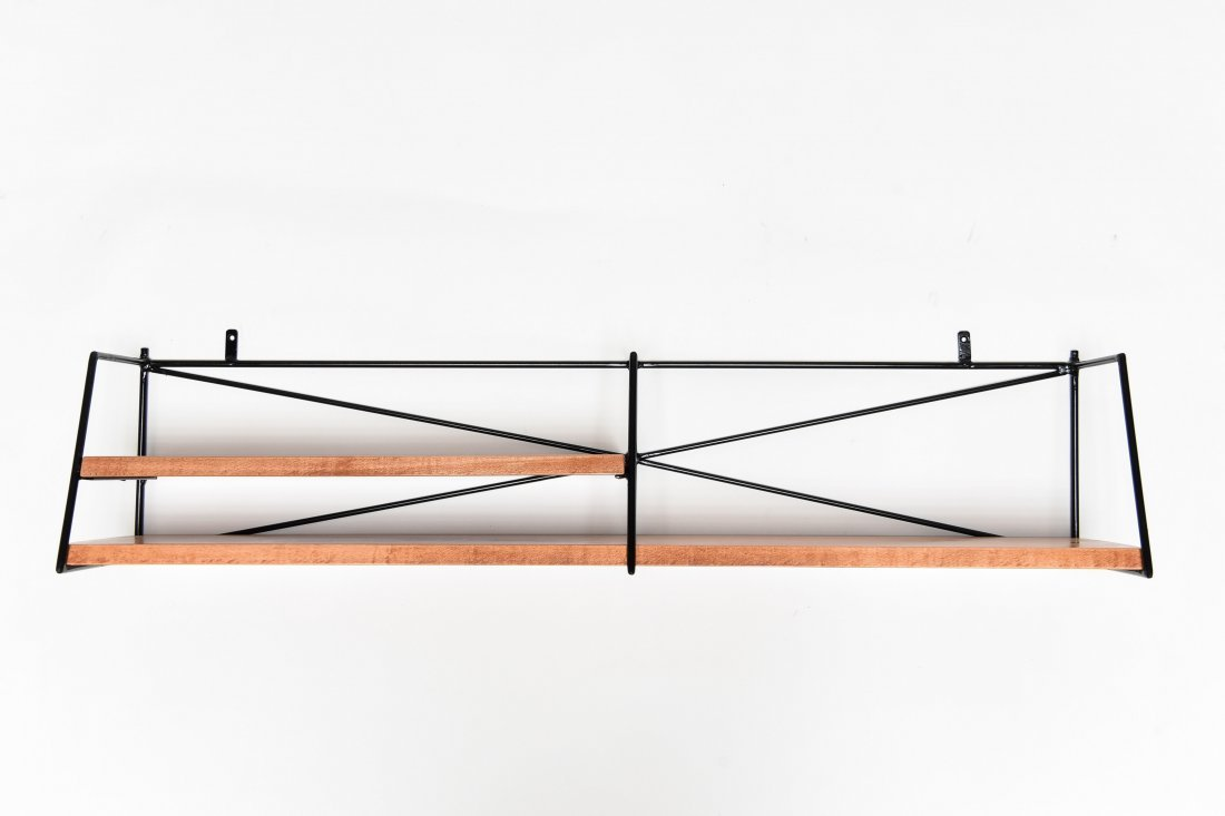 PAUL MCCOBB HANGING WALL SHELF