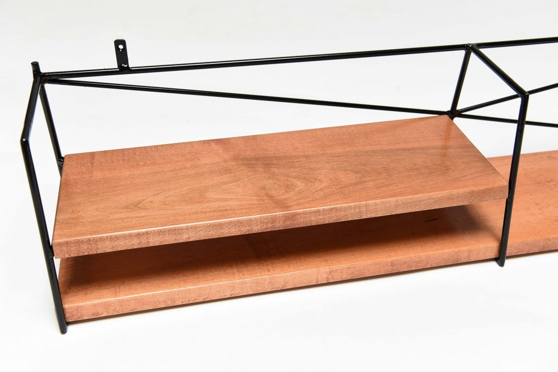 PAUL MCCOBB HANGING WALL SHELF - 2