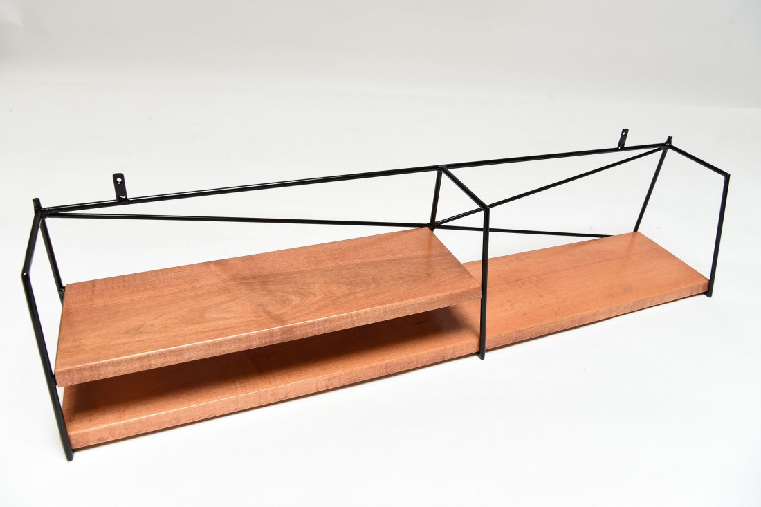 PAUL MCCOBB HANGING WALL SHELF - 3