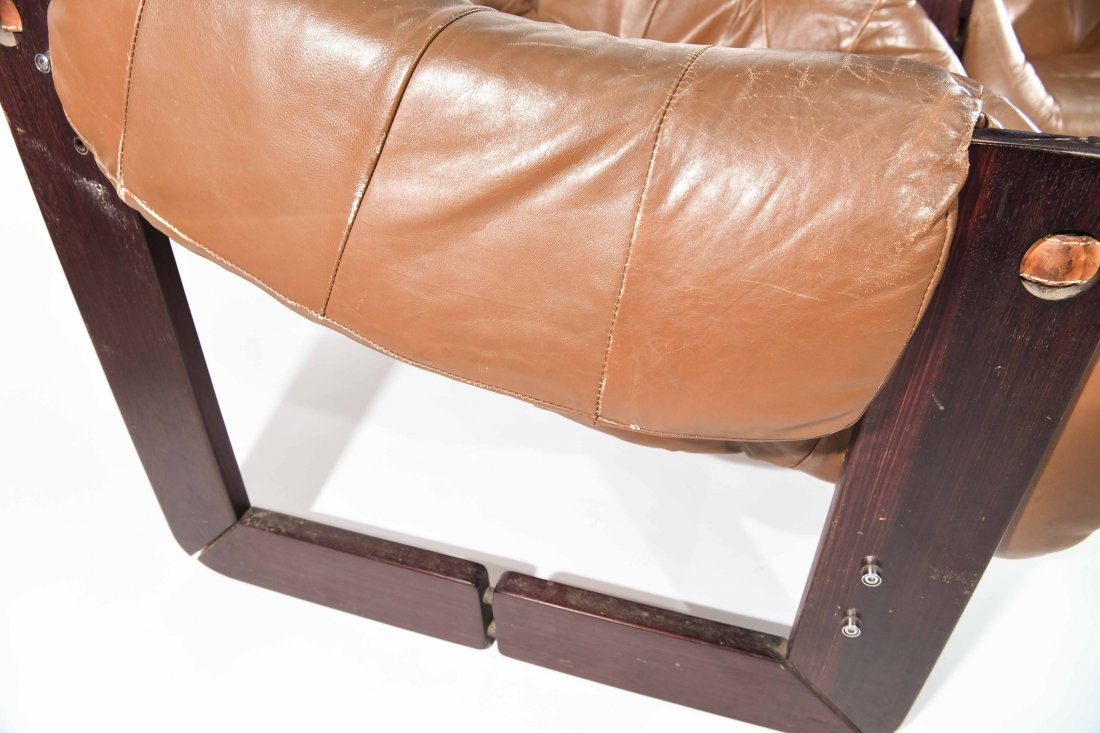 PAIR OF PERCIVAL LAFER ROSEWOOD LOUNGE CHAIRS - 7