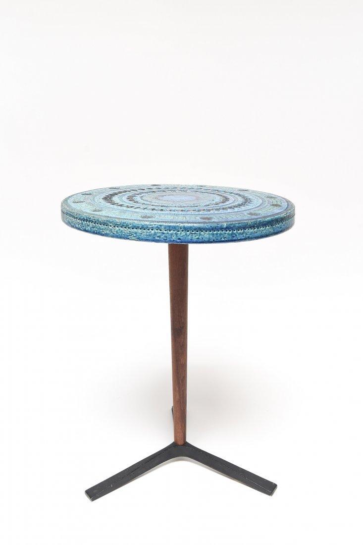 BITOSSI BY ALDO LONDI RIMINI BLUE SIDE TABLE