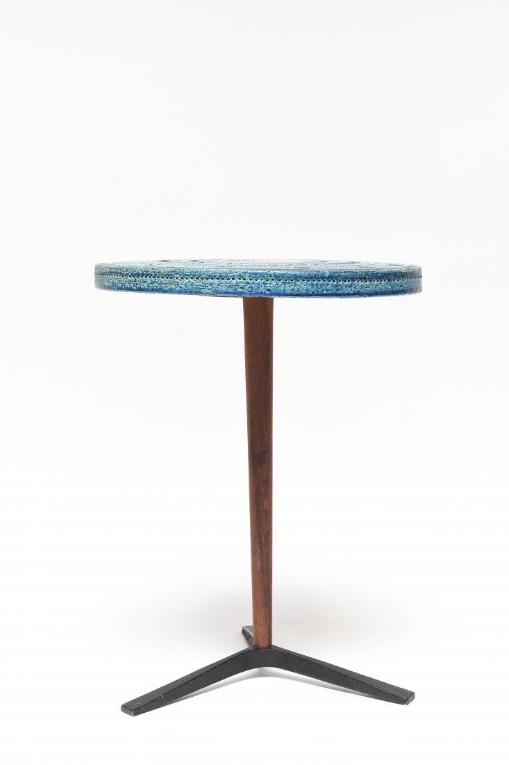 BITOSSI BY ALDO LONDI RIMINI BLUE SIDE TABLE - 2