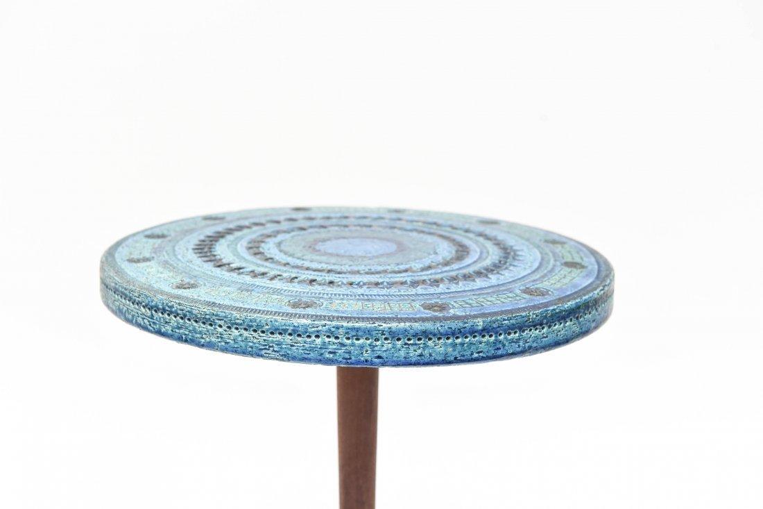 BITOSSI BY ALDO LONDI RIMINI BLUE SIDE TABLE - 3