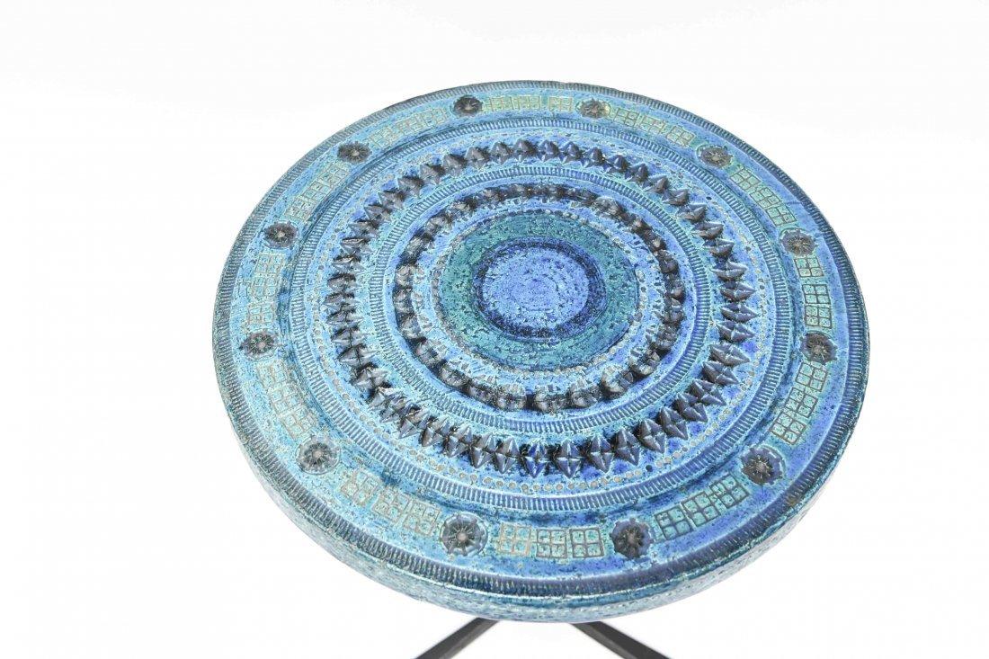 BITOSSI BY ALDO LONDI RIMINI BLUE SIDE TABLE - 4