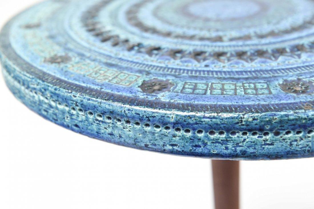 BITOSSI BY ALDO LONDI RIMINI BLUE SIDE TABLE - 7