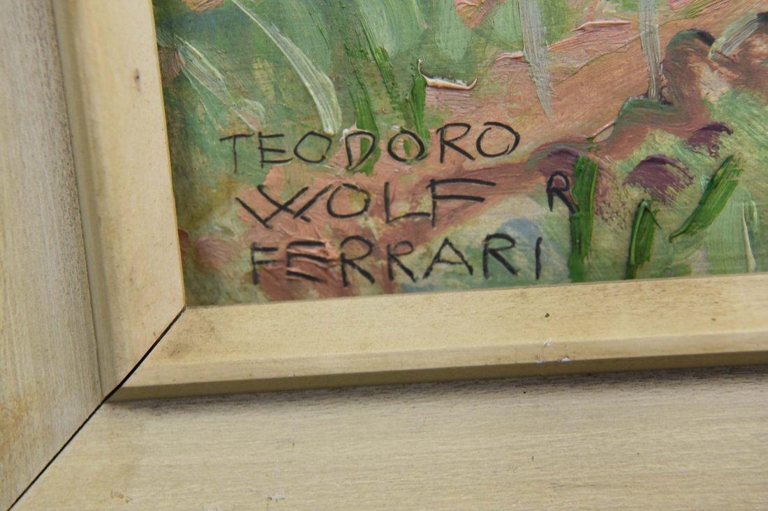 THEODORO WOLF FERRARI (ITALIAN 1876-1945), O/B - 5