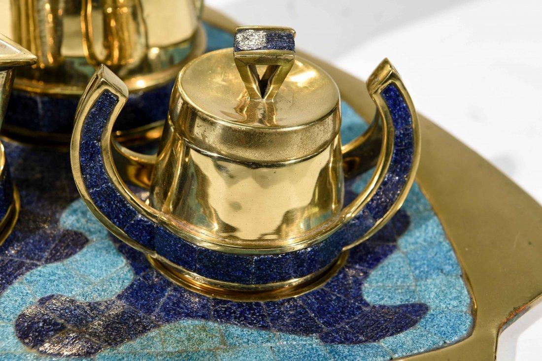 HANDMADE MEXICAN TEA SERVICE - 2