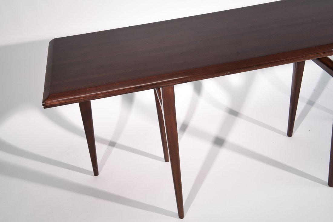MID CENTURY FLIP TOP CONSOLE TABLE - 3