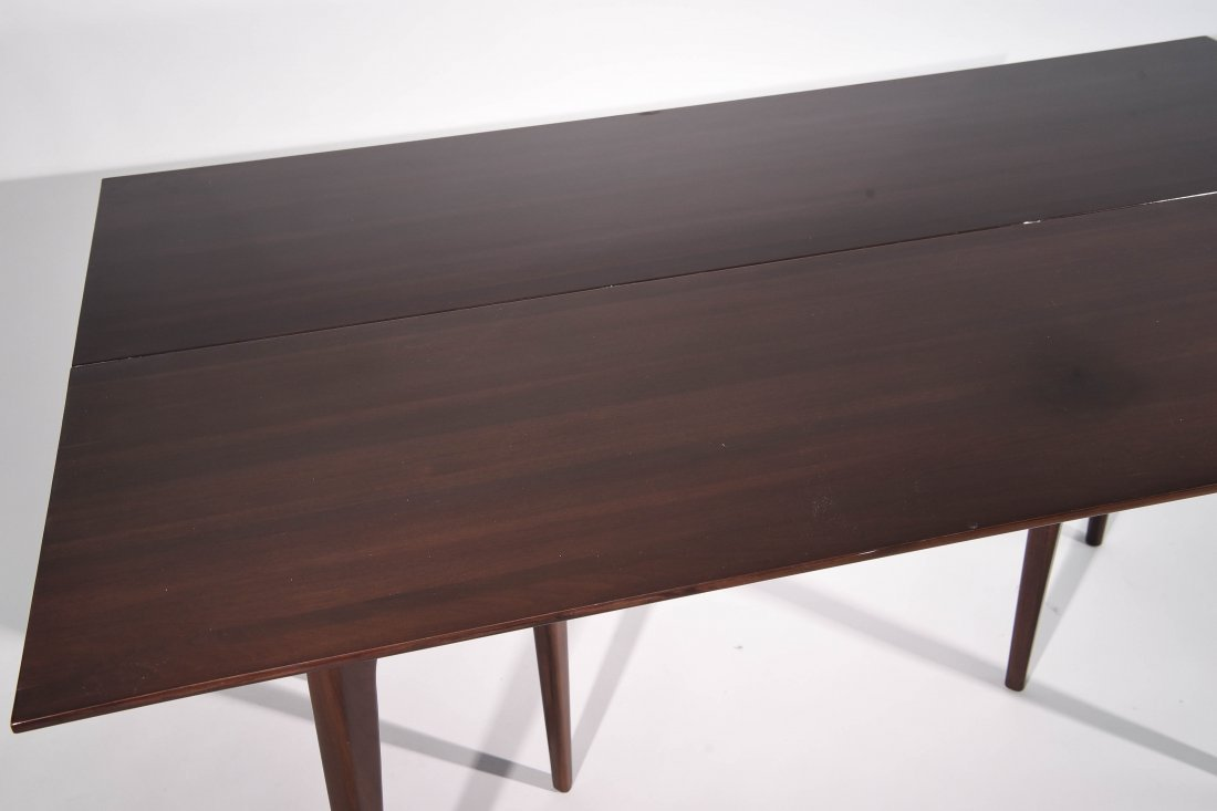 MID CENTURY FLIP TOP CONSOLE TABLE - 8