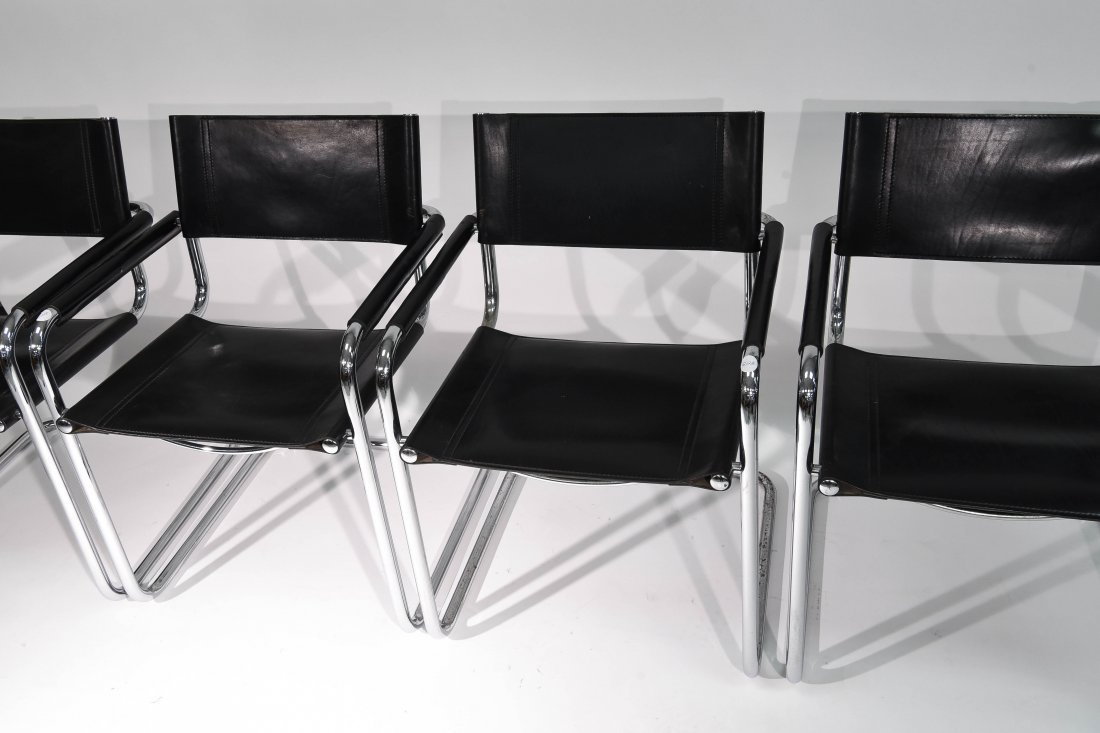 (4) BRUER FOR KNOLL ARM CHAIRS - 2