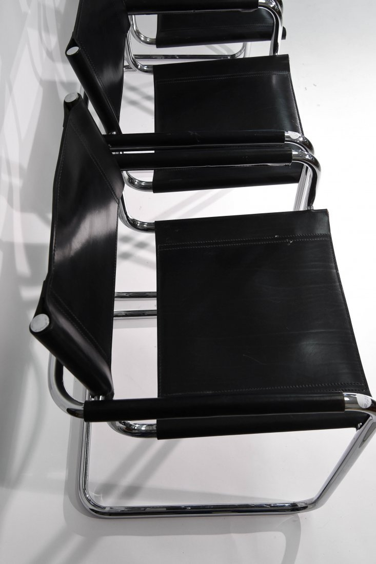 (4) BRUER FOR KNOLL ARM CHAIRS - 4