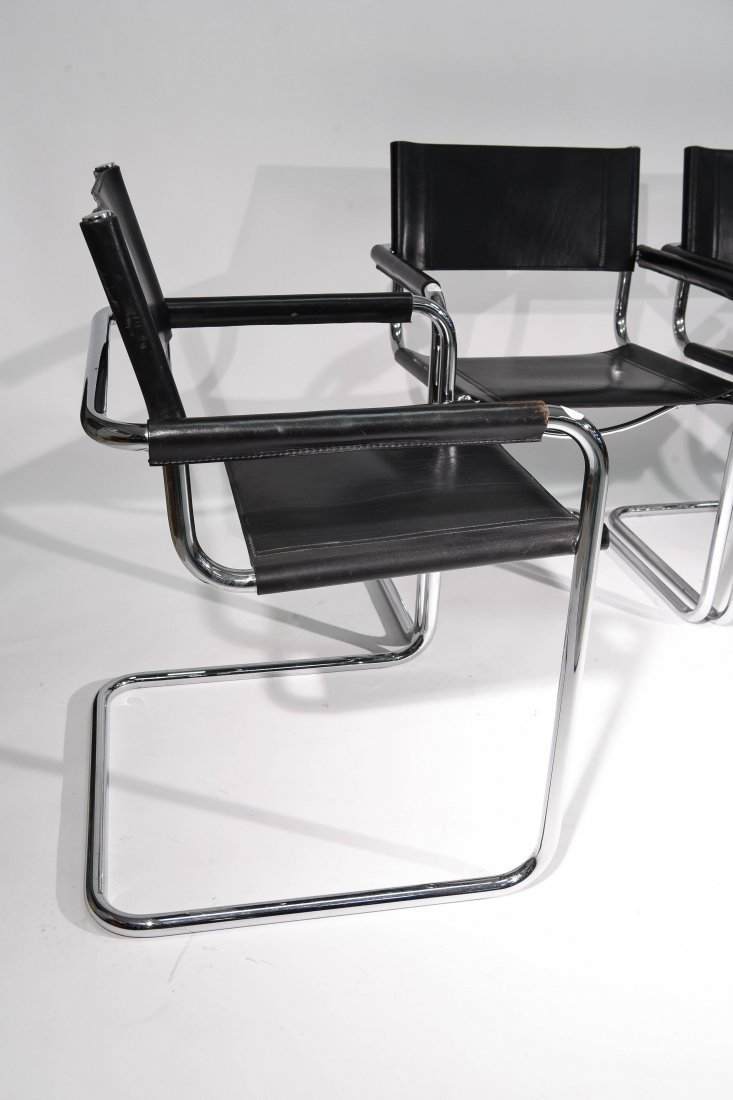 (4) BRUER FOR KNOLL ARM CHAIRS - 5