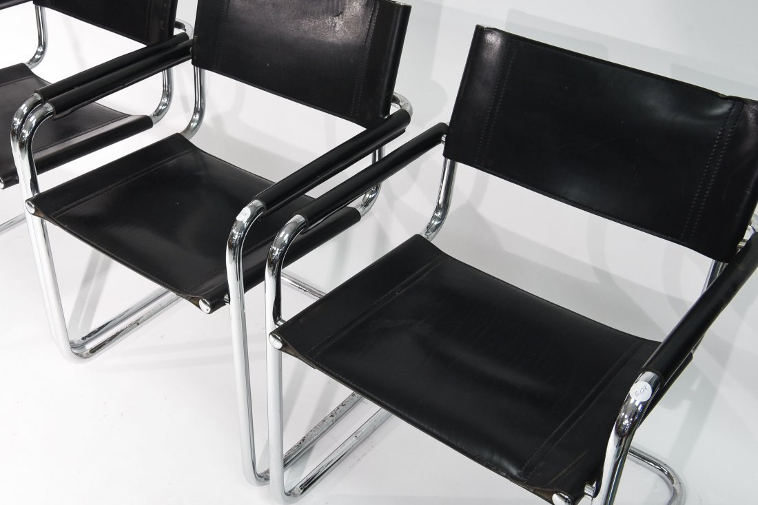 (4) BRUER FOR KNOLL ARM CHAIRS - 7