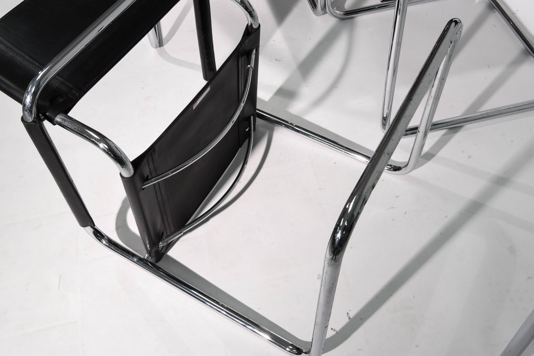 (4) BRUER FOR KNOLL ARM CHAIRS - 9