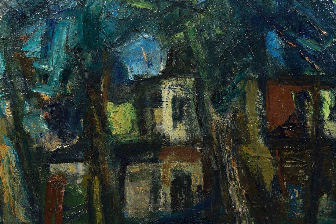 BENJAMIN D.KOPMAN (RUSSIAN-AMERICAN 1887-1965),O/C - 2