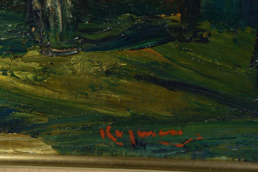 BENJAMIN D.KOPMAN (RUSSIAN-AMERICAN 1887-1965),O/C - 4