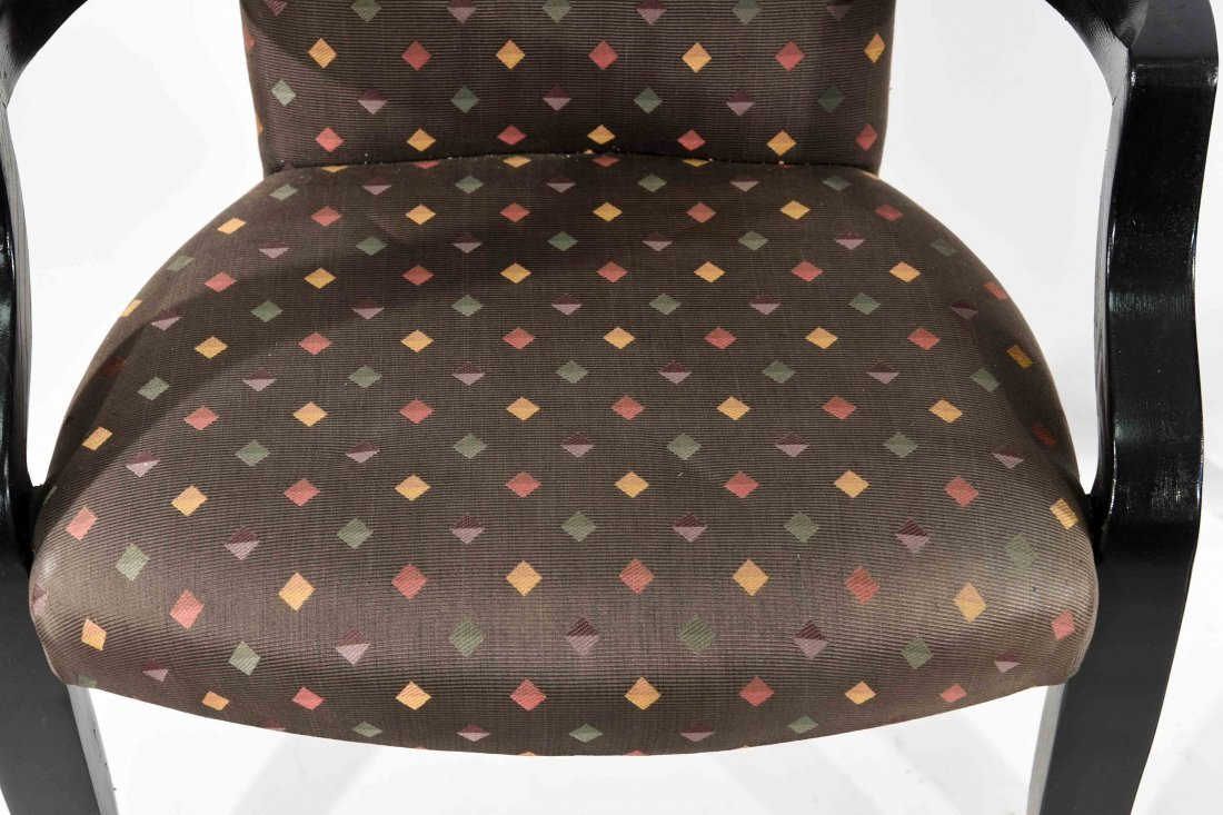 PAIR OF DONGHIA (ATTR.) ARM CHAIRS - 2