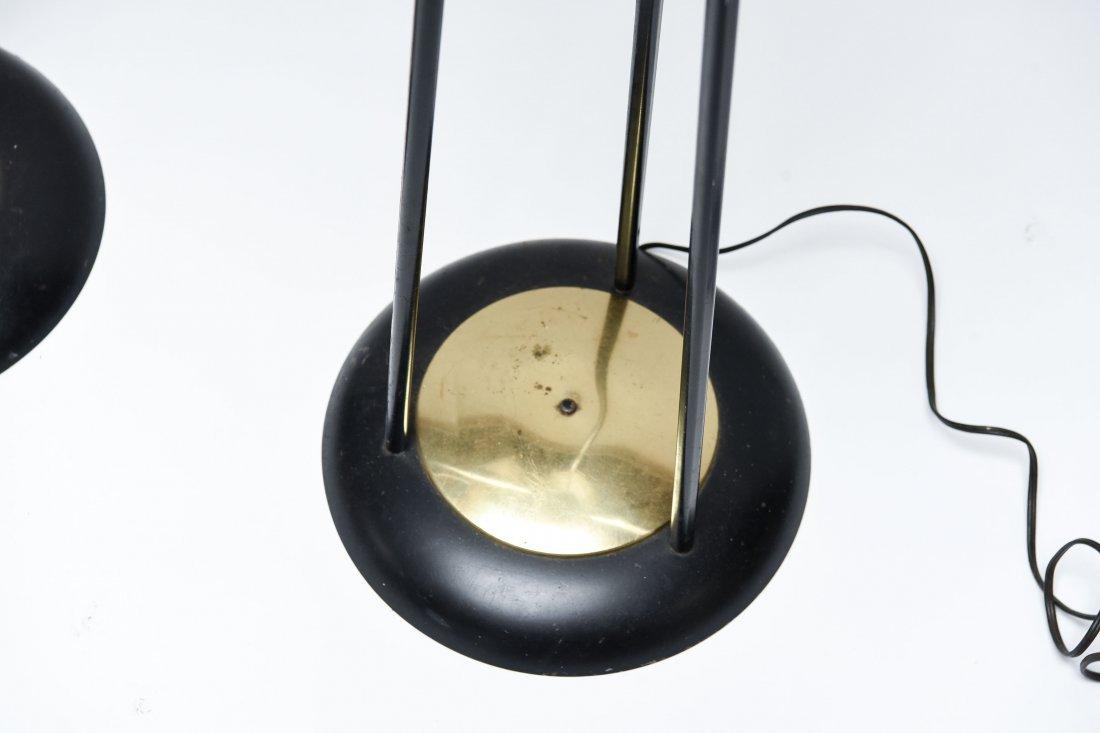 MID-CENTURY METAL FLOOR LAMPS - 2