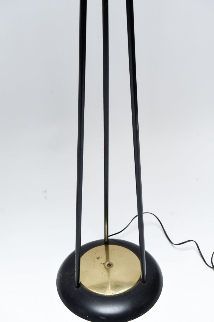 MID-CENTURY METAL FLOOR LAMPS - 6