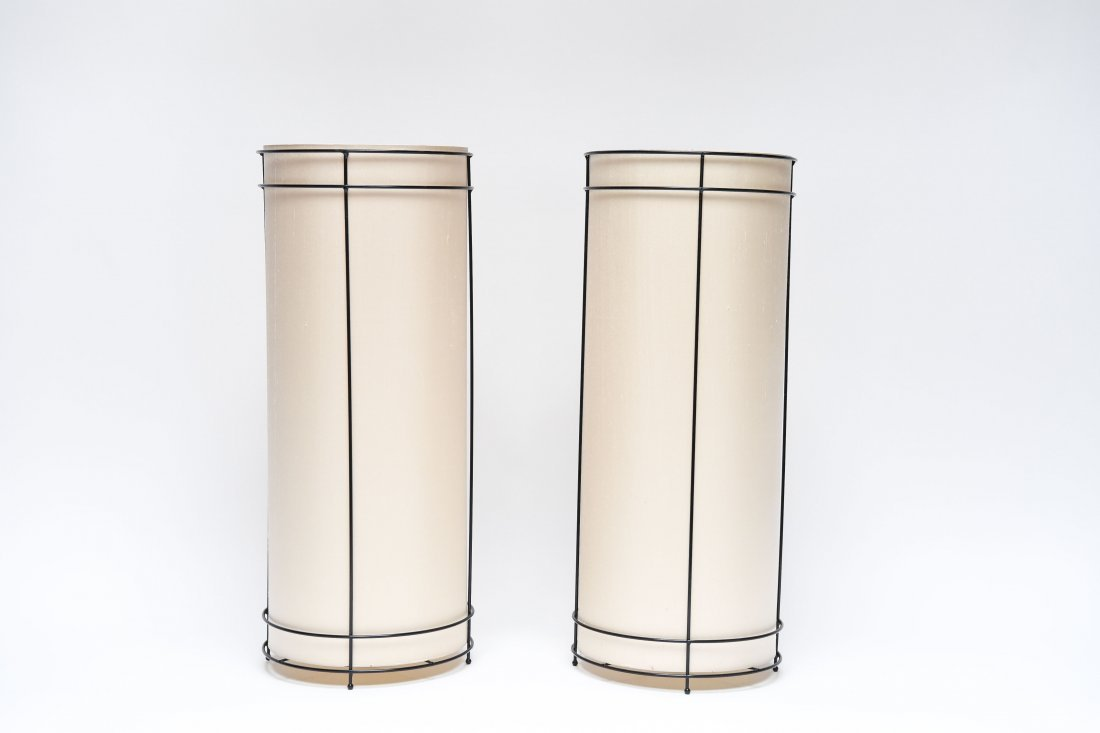 (2) 1970S END TABLE LAMPS