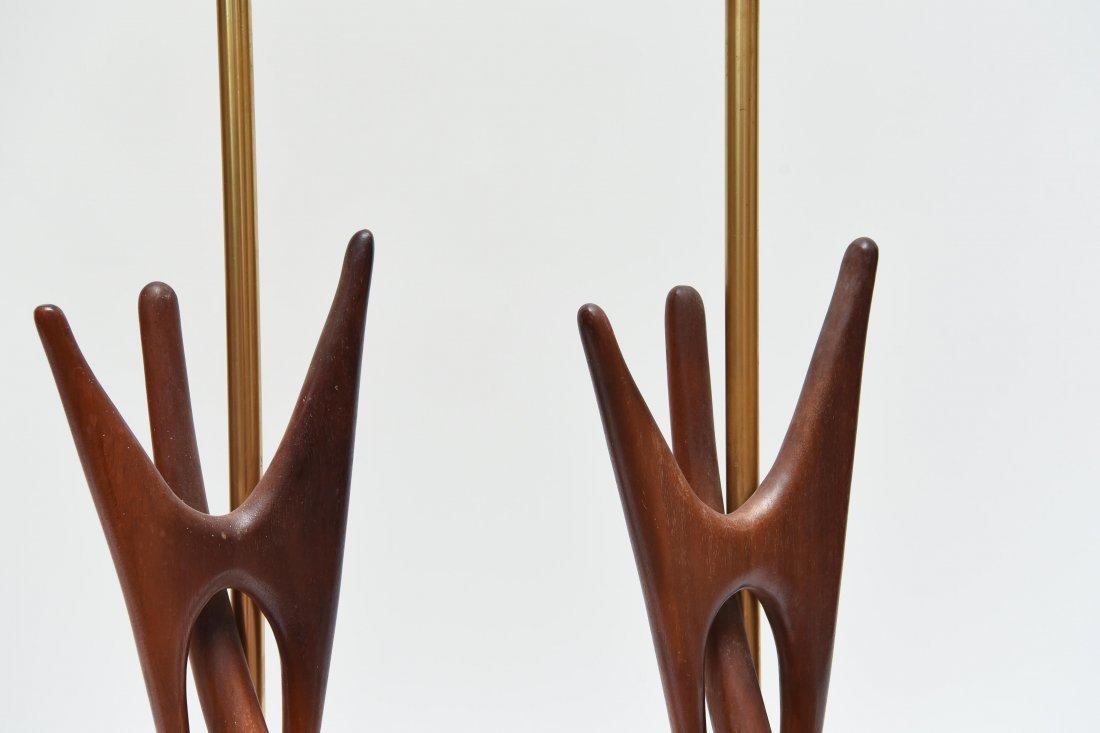 MID-CENTURY WOODEN LAMPS - 5