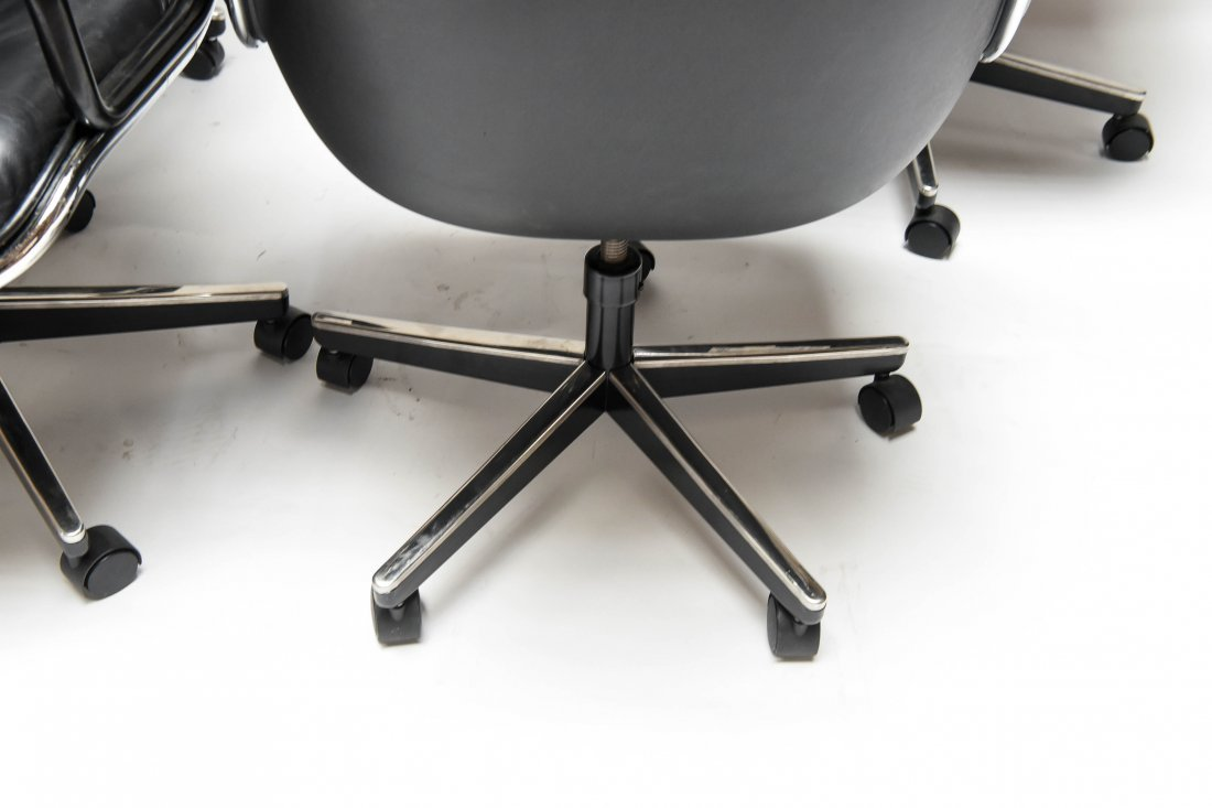 (4) KNOLL POLLOCK CHAIRS - 6