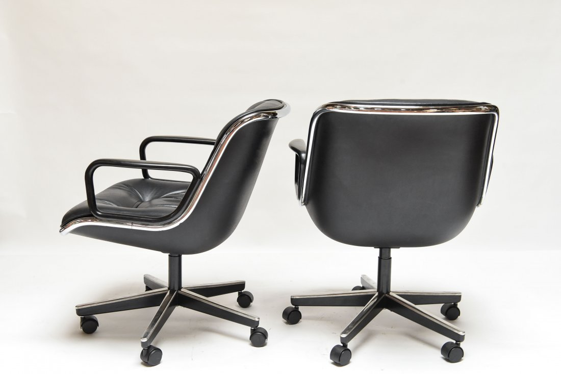 (4) KNOLL POLLOCK CHAIRS - 8