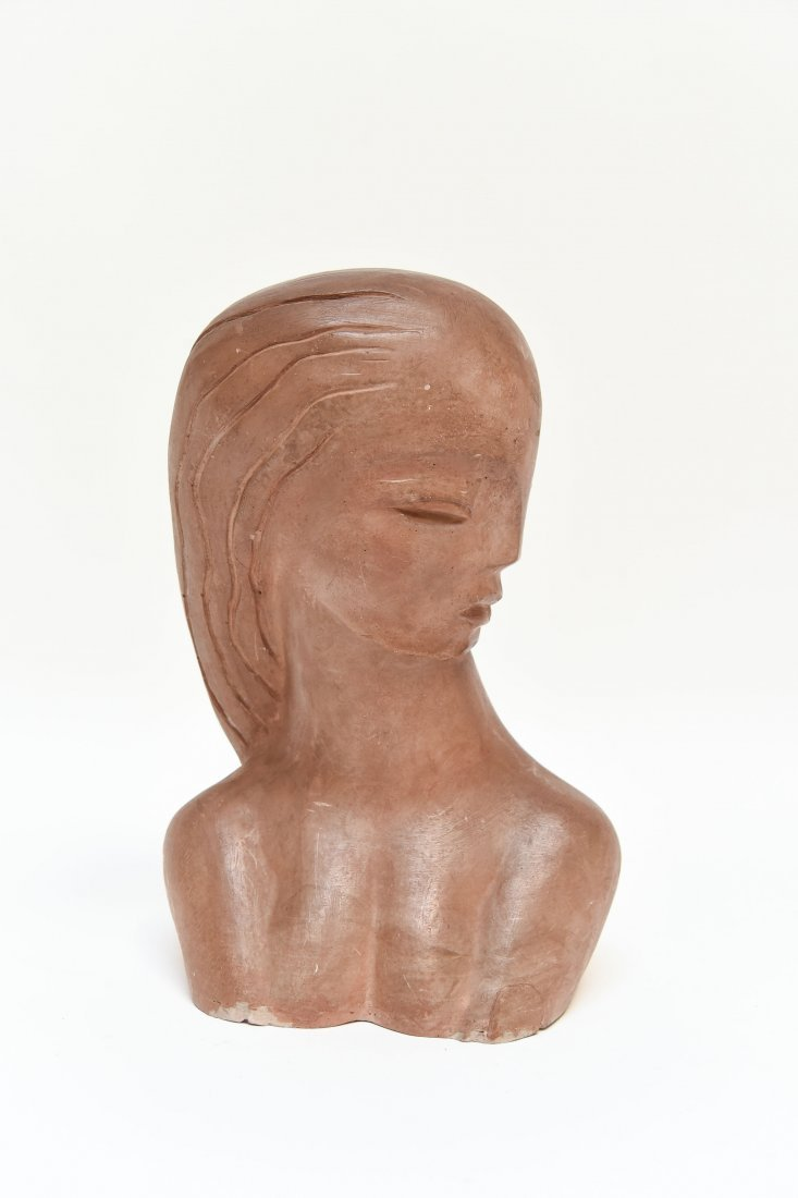 ART DECO POTTERY SCULPTURE