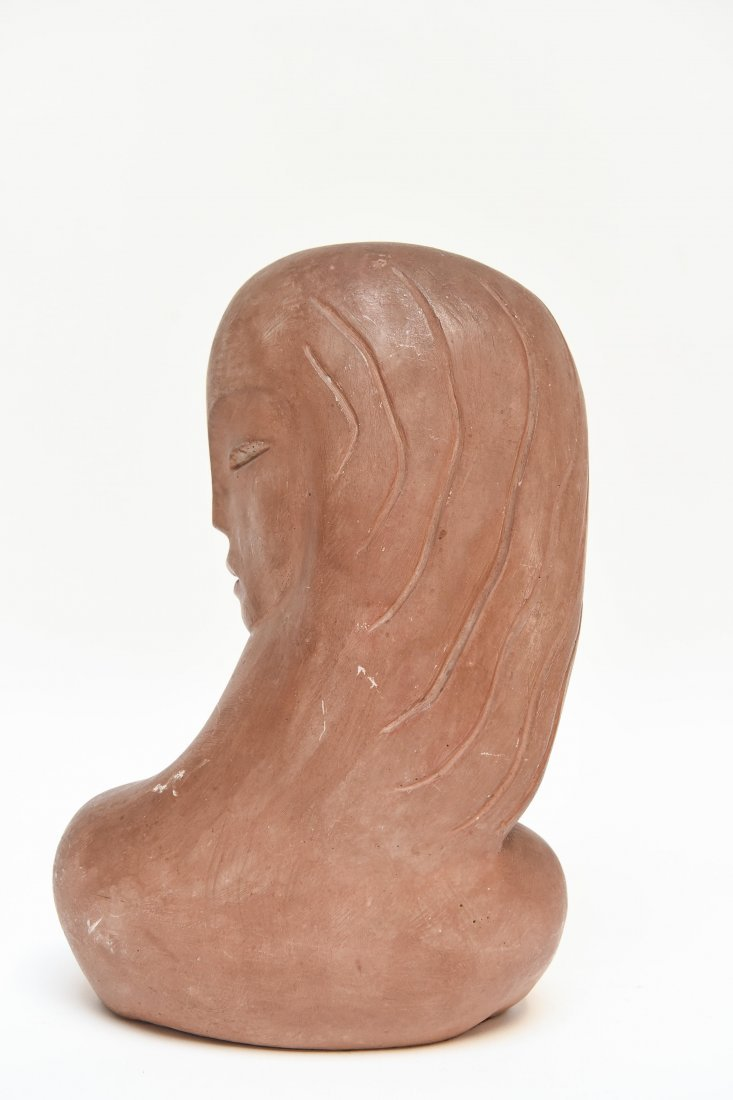 ART DECO POTTERY SCULPTURE - 7