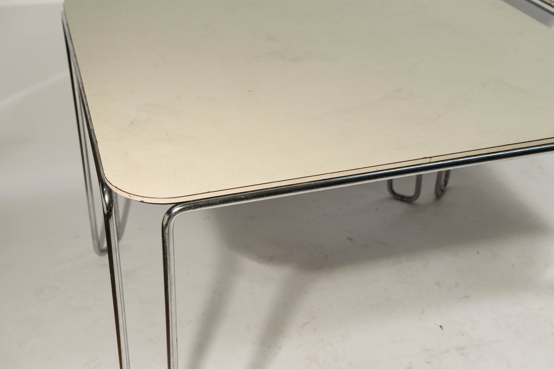 PAIR OF MARCEL BREUER B10 TABLES - 4