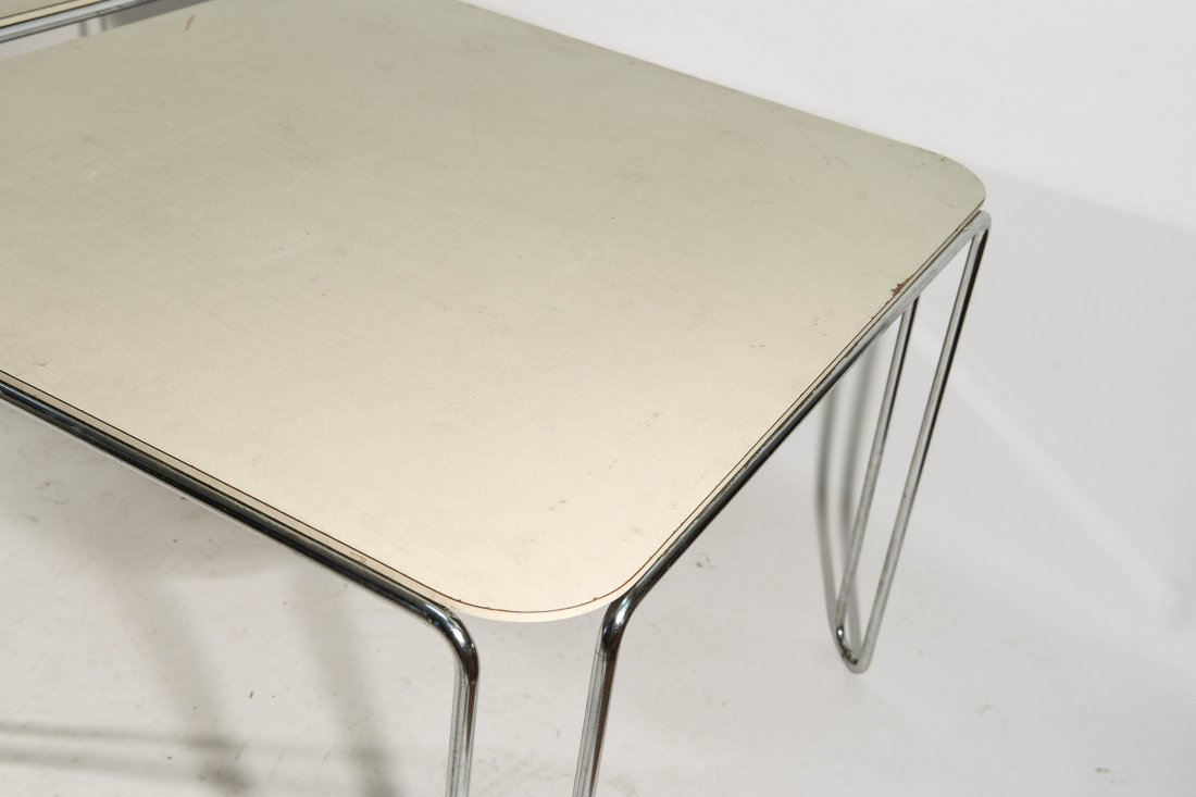 PAIR OF MARCEL BREUER B10 TABLES - 7