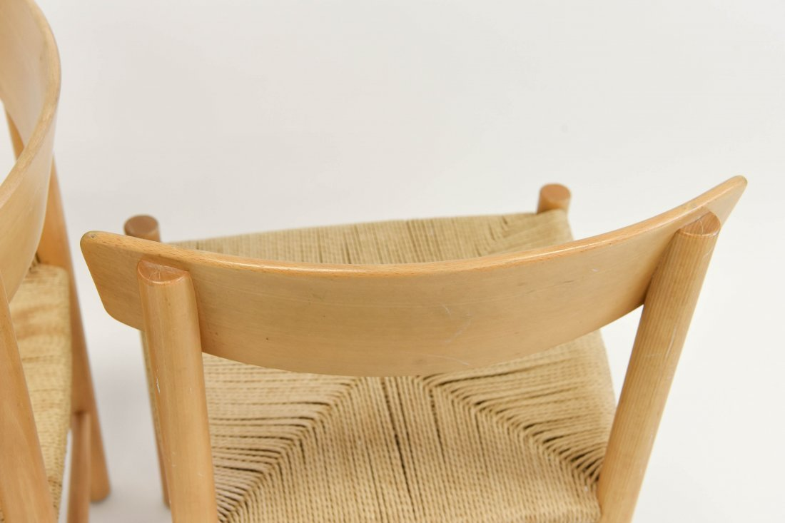 5 BORGE MOGENSEN DINING CHAIRS - 8