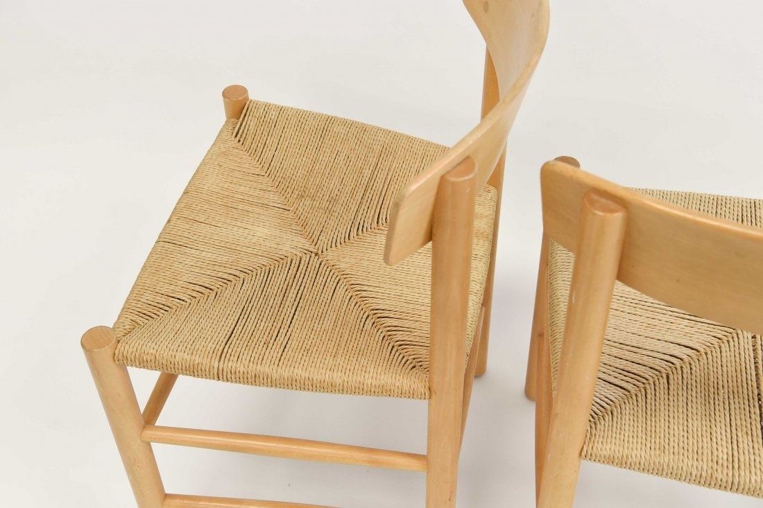 5 BORGE MOGENSEN DINING CHAIRS - 9