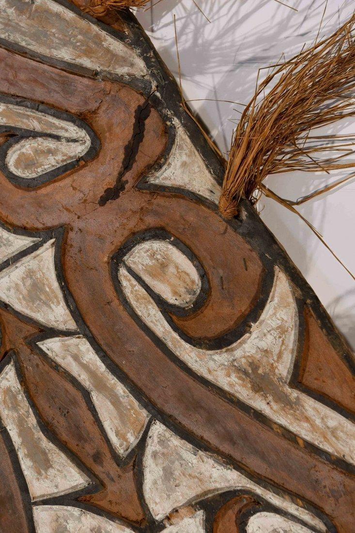 VINTAGE ASMAT TRIBE PAPUA NEW GUINEA SHEILD - 3