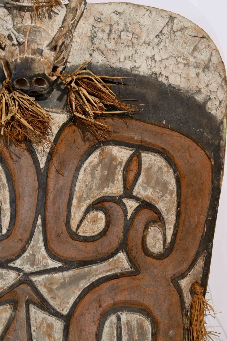 VINTAGE ASMAT TRIBE PAPUA NEW GUINEA SHEILD - 6