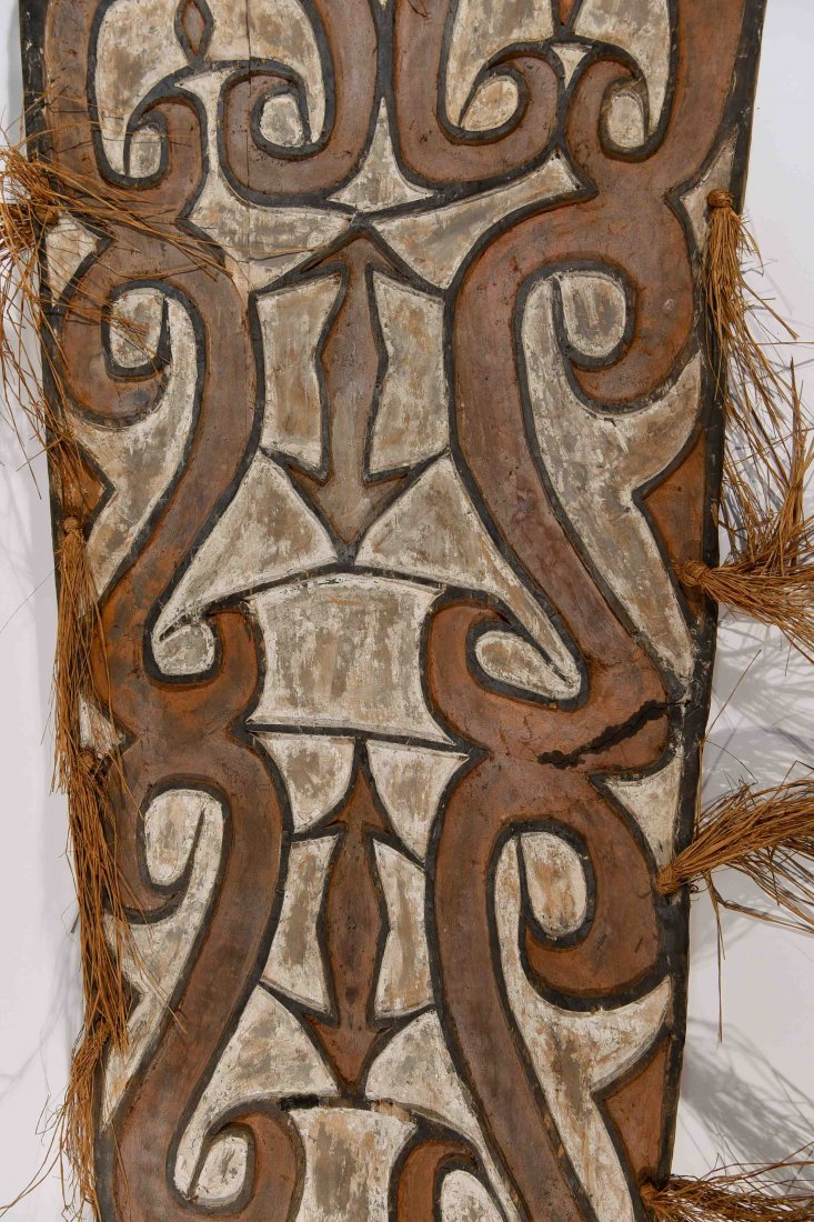 VINTAGE ASMAT TRIBE PAPUA NEW GUINEA SHEILD - 7