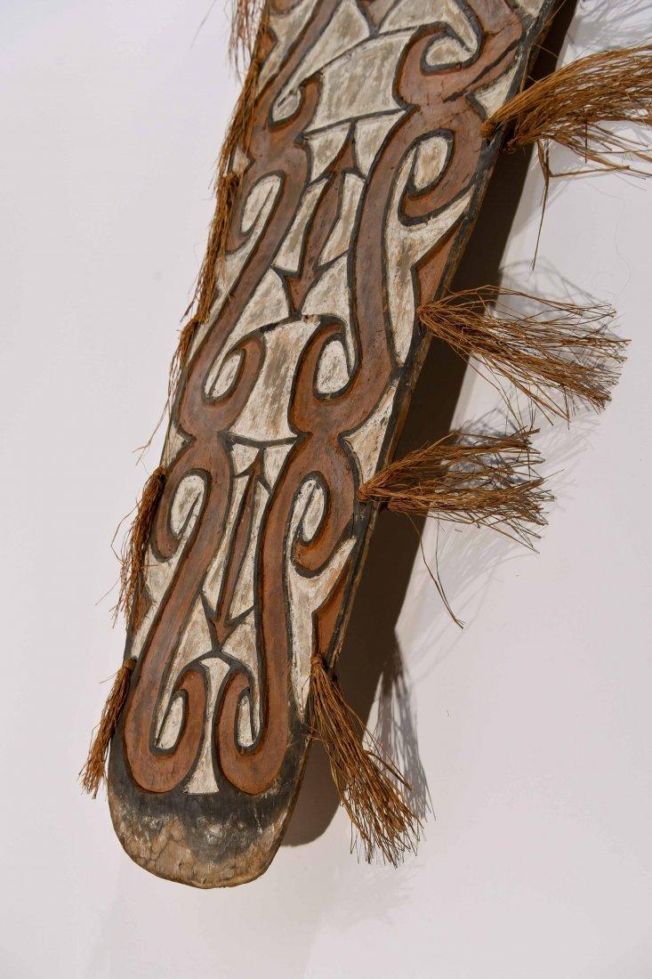 VINTAGE ASMAT TRIBE PAPUA NEW GUINEA SHEILD - 8