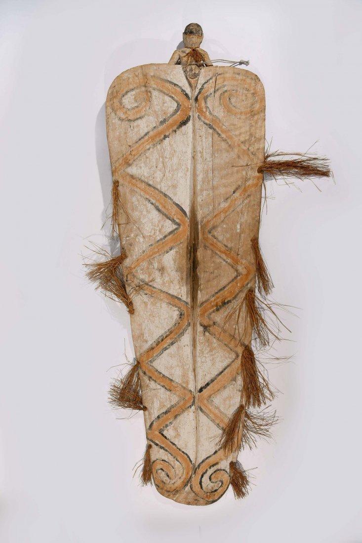 VINTAGE ASMAT TRIBE PAPUA NEW GUINEA SHEILD - 9
